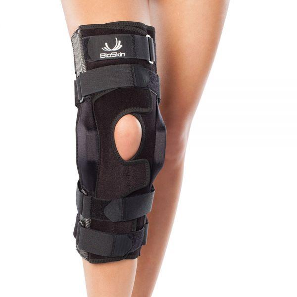 Wraparound ligament knee brace