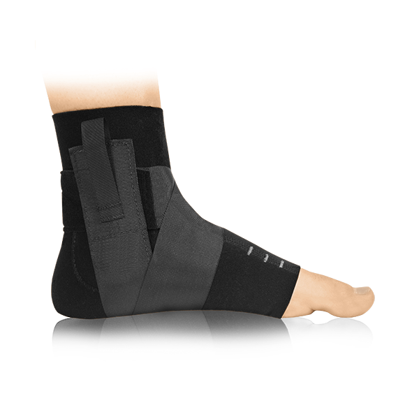 Ankle compression brace