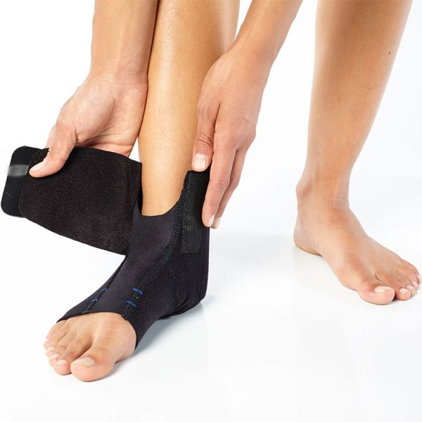 Ankle brace for compression