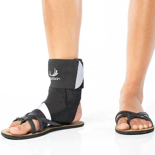 Ankle brace fits in sandals