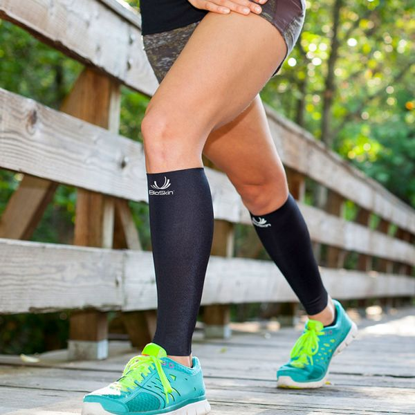 Compression sleeve for shin splints