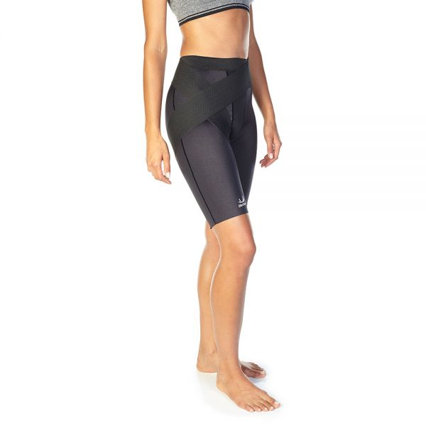 Compression shorts for groin injury